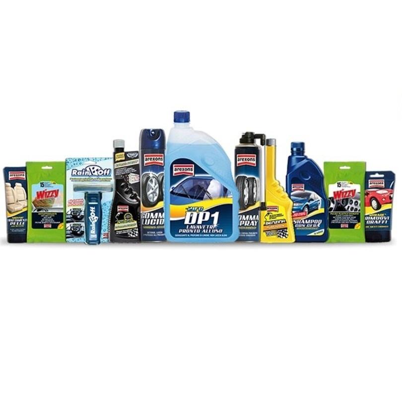prodotti arexons cura dell'auto